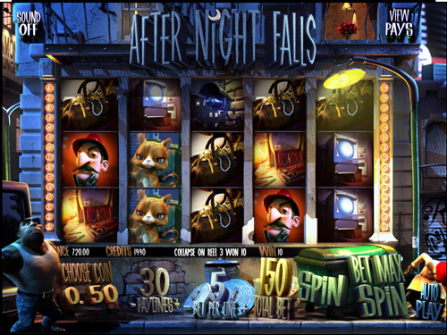 after night falls online slot im mr green casino