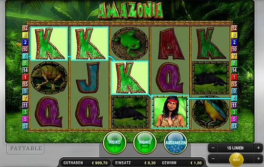 Merkur Amazonia online spielen bei Sunmaker