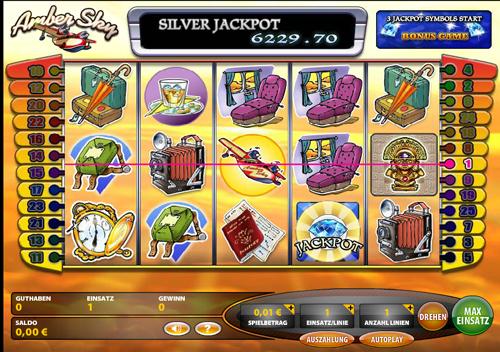 amber sky online slot im casinoclub spielen
