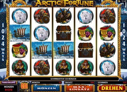arctic fortune online slot im spinpalace casino