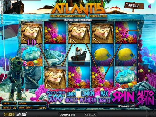 atlantis 3d slot im sunmaker casino