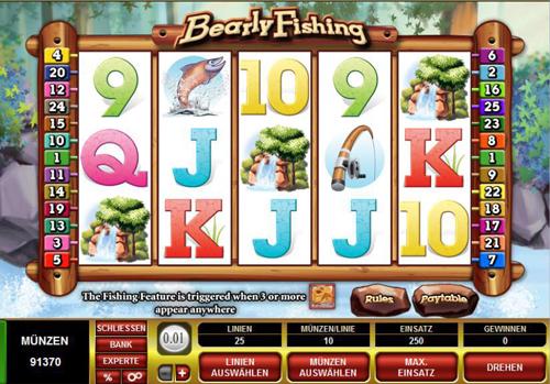 bearly fishing online slot im spinpalace casino