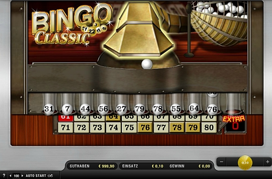 Merkur Bingo Classis