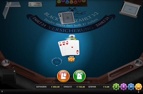 black jack lucky pair im sunmaker casino spielen