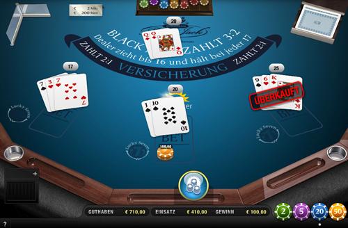 black jack lucky seven im sunmaker casino spielen