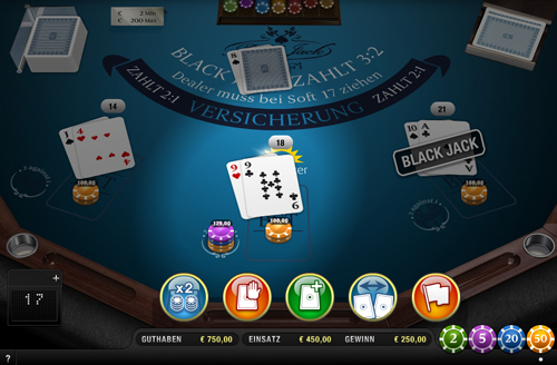 black jack surrender 2-1 im sunmaker casino spielen