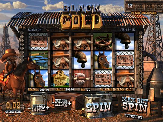 Black Gold Spielautomat