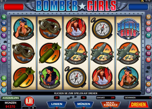 bomber girls online slot im spinpalace casino