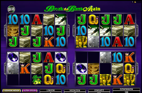 break da bank again online slot im mr green casino
