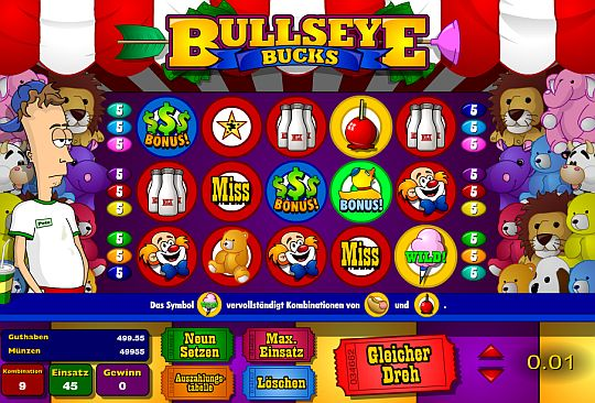 Bullseye Bucks Slot