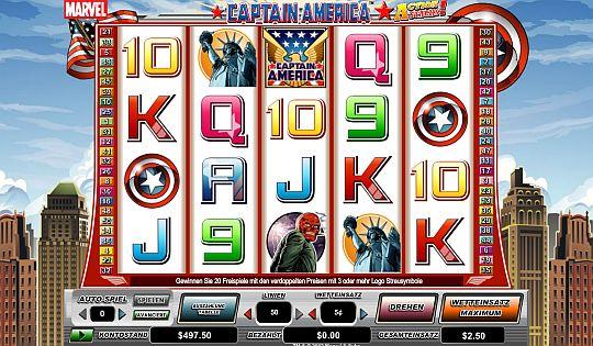 Captain America Spielautomat