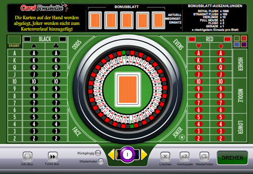 card-roulette