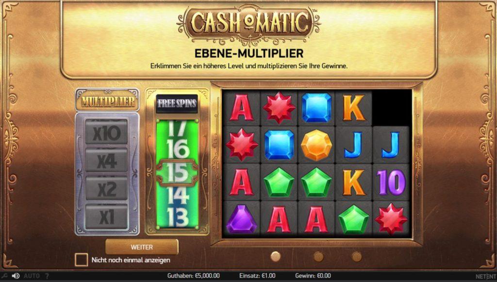 Cash-o-Matic Vorschau