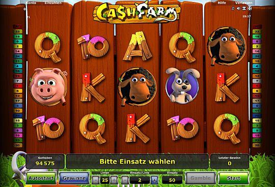Cash Farm spielen bei Stargames