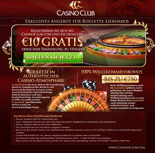ohne einzahlung casino spielen