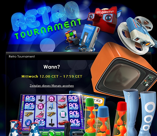 Retro Tournament im Casino Euro