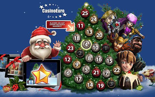 Weihnachten feiern mit Casino Euro