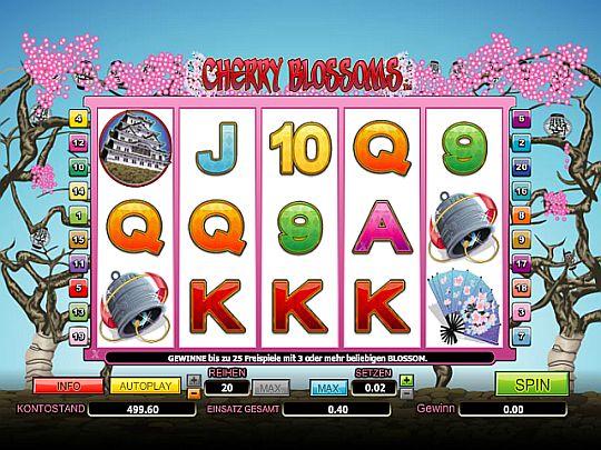 Cherry Blossoms Spielautomat