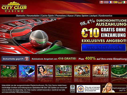 City Club Casino Test