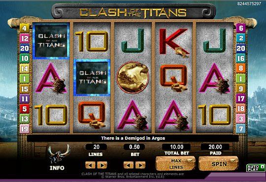 Clash of the Titans online spielen