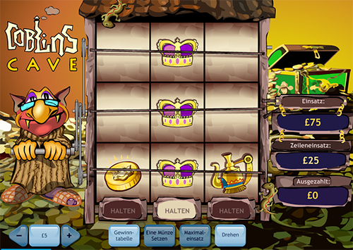 coblins cave im william hill online casino spielen