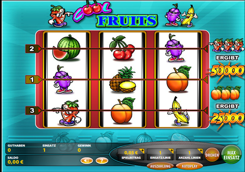 cool fruits online slot im casinoclub