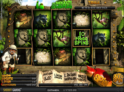 dr magoos adventure online slot in 3d