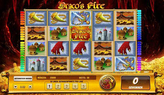 Dracos Fire online spielen