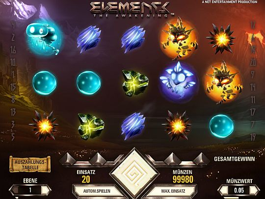 Elements Spielautomat
