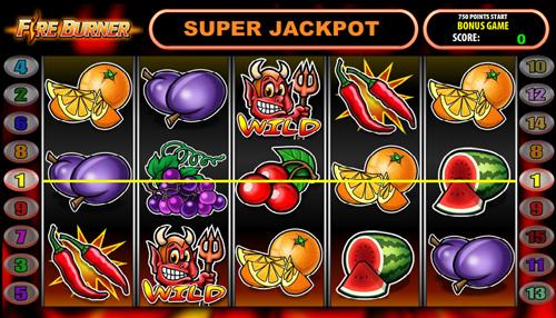 fire burner online slot im casinoclub spielen