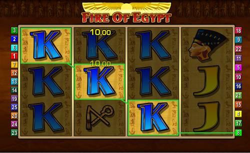 fire of egypt online slot im sunmaker casino