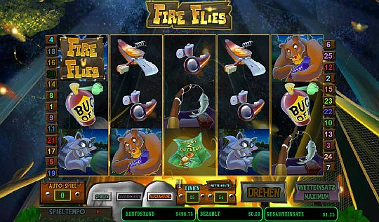Fire Flies Mybet Casino