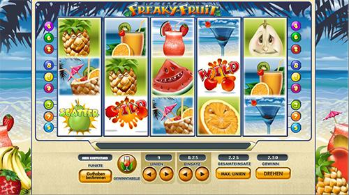 freaky fruit im 888 online casino spielen