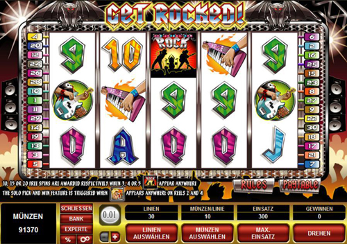 get rocked online slot im spinpalace casino