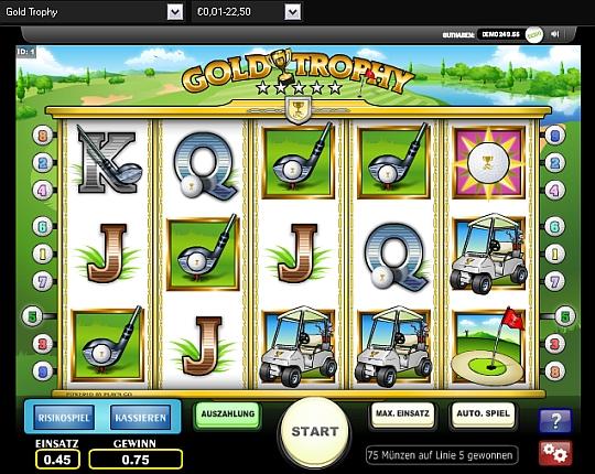 Gold Trophy online spielen