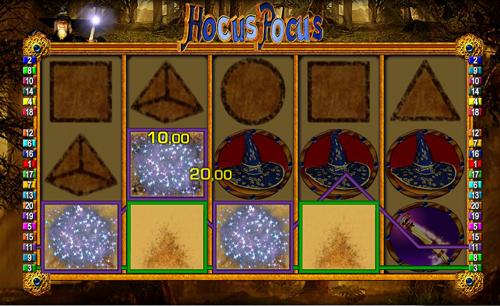 hocus pocus online slot im sunmaker casino