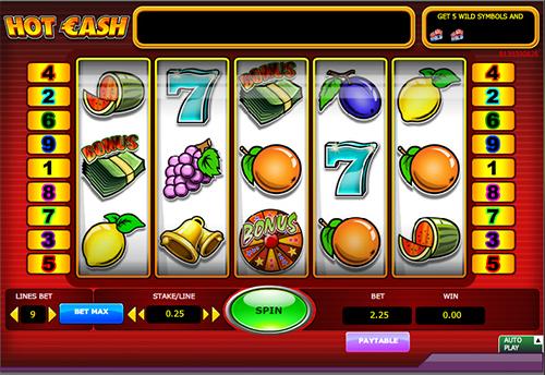 hot cash im 888 online casino spielen