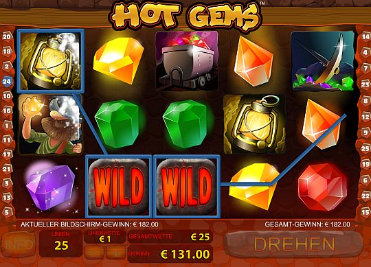 Hot Gems spielen