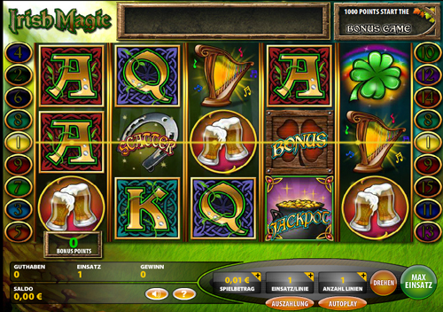 irish magic online slot im casinoclub