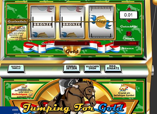 Jumping for Gold Spielautomat