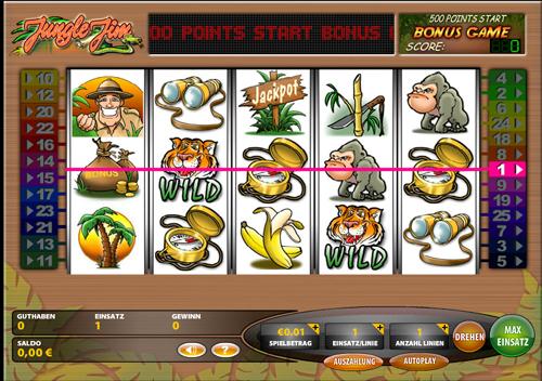 jungle jim online slot im casino club