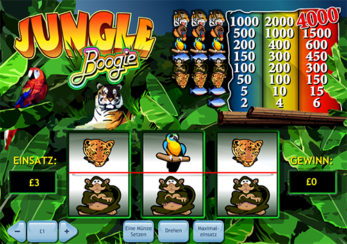 jungle boogie spielautomat im william hill casino online spielen