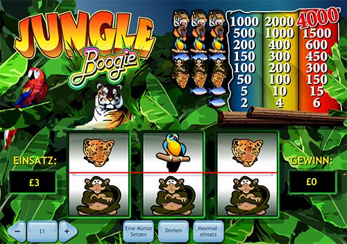 jungle boogie spielautomat im william hill casino online spielen