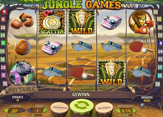 Jungle Games online spielen