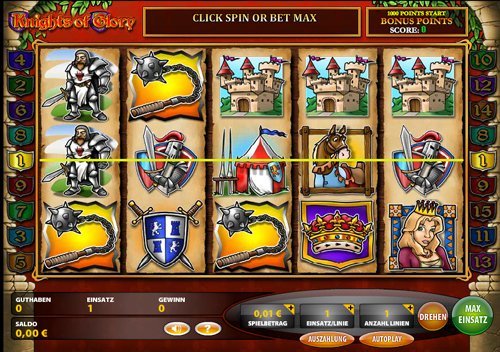 knights of glory online slot im casino club