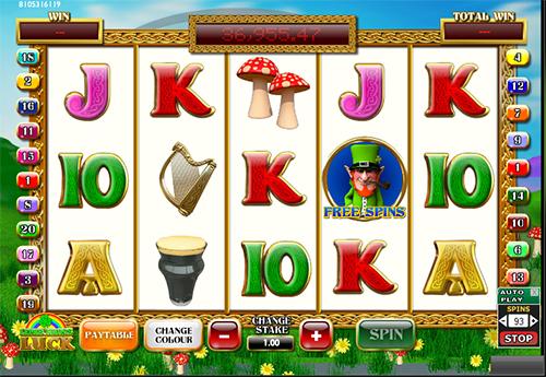 leprechauns luck slot im 888 casino online spielen