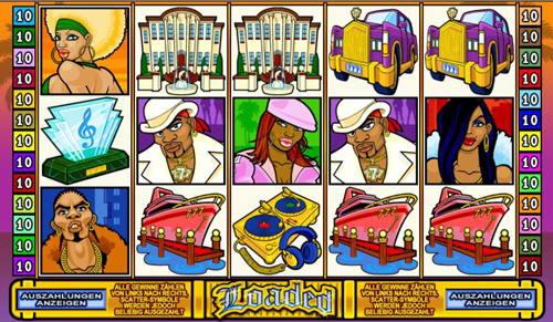 loaded online slot im spinpalace casino