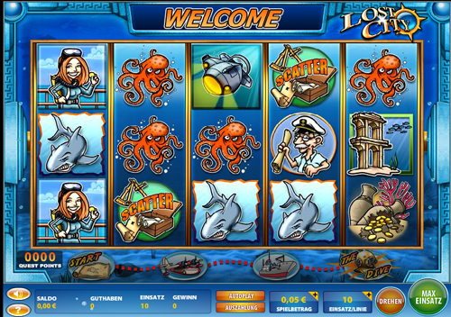 lost city online slot im casinoclub spielen