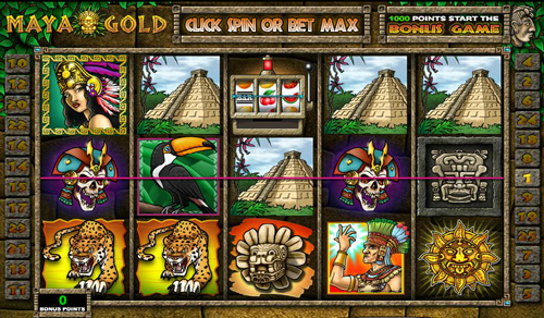 maya gold online slot im casino club
