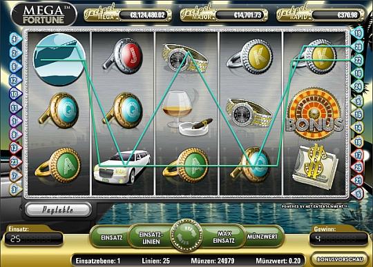 Mega Fortune Jackpot gewinnen